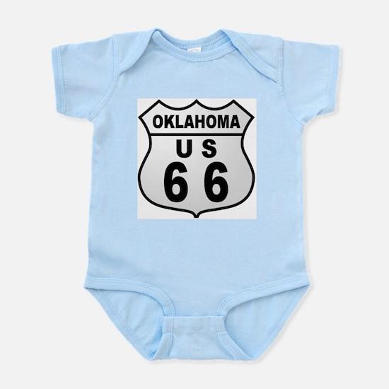 Oklahoma Route 66  Infant Creeper
