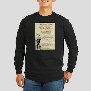 Al Jennings Gang Long Sleeve Dark T-Shirt
