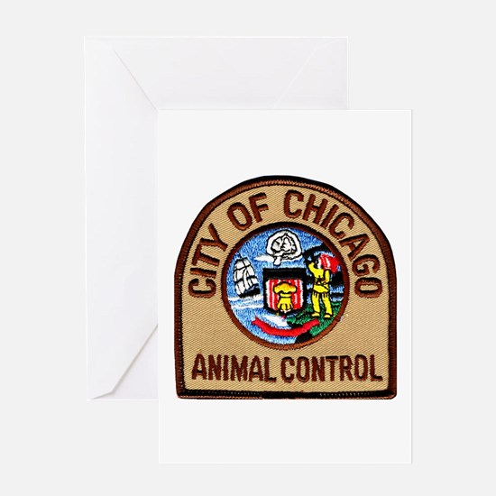 Chicago Animal Control Greeting Card