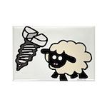 Screw Ewe Rectangle Magnet (10 pack)