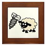 Screw Ewe Framed Tile