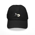 Screw Ewe Black Cap
