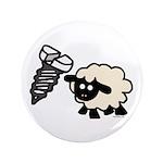 "Screw Ewe 3.5"" Button (100 pack)"