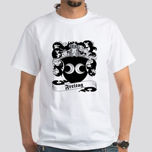 Freitag Family Crest White T-Shirt