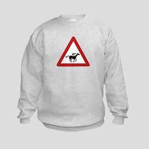 Horse Race Crossing, UAE Kids Sweatshirt