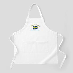 Coolest Swedish Grandma BBQ Apron