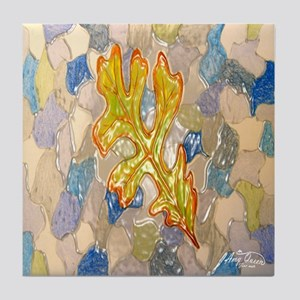Oak Leaf Tile Coaster