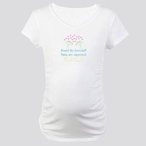 Twins Expected - Maternity T-Shirt