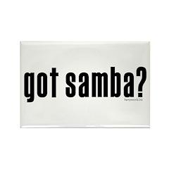 got samba? Rectangle Magnet (100 pack)