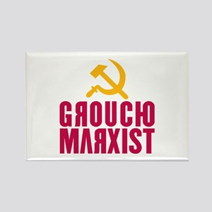 Groucho Marxist Rectangle Magnet