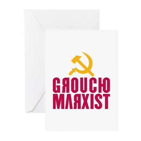 Groucho Marxist Greeting Cards (Pk of 10)