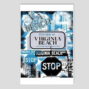 Virginia Beach 2 Postcards (Package of 8)