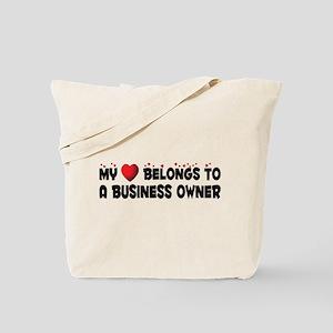 Belongs To A Business Owner Tote Bag
