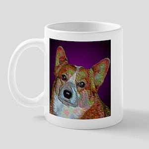 Serious Corgi Mug