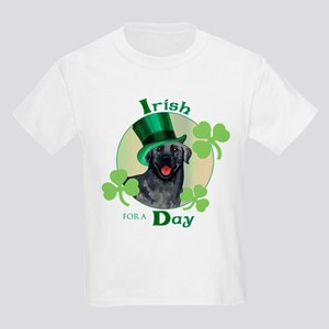 St. Patrick Black Lab Kids Light T-Shirt