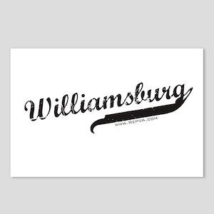 Williamsburg Postcards (Package of 8)