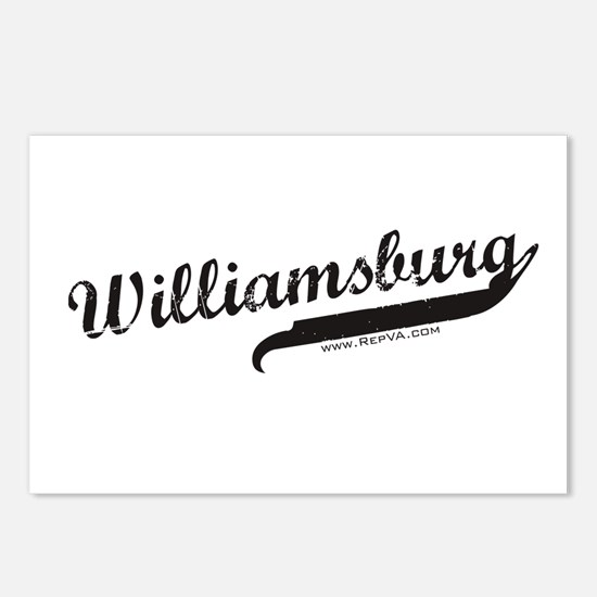 Williamsburg Postcards (Package of 8)