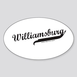 Williamsburg Oval Sticker