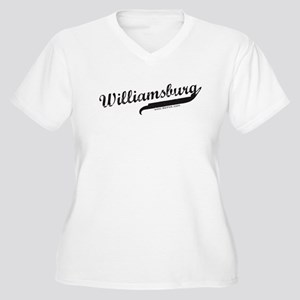 Williamsburg Women's Plus Size V-Neck T-Shirt