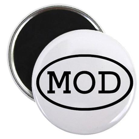 """MOD Oval 2.25"""" Magnet (10 pack)"""