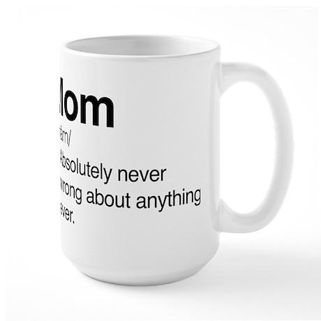Large 15 oz. Mugs