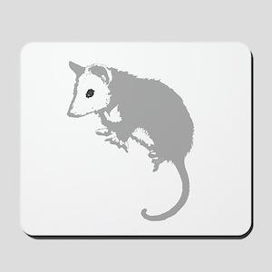 Possum Silhouette Mousepad