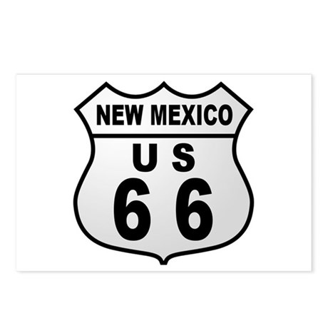 Route 66 New Mexico Postcards (Package of 8)