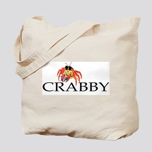 """Crabby"" Tote Bag"