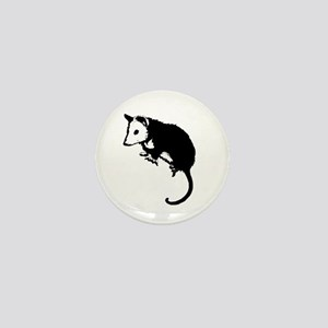 Possum Silhouette Mini Button