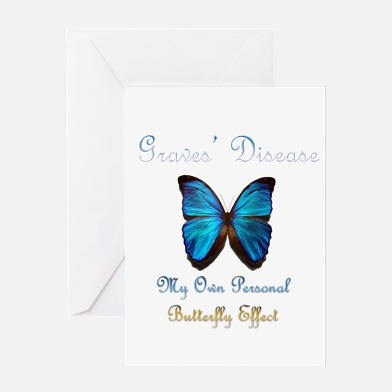 Graves' Disease Butterfly Effect Greeting Card