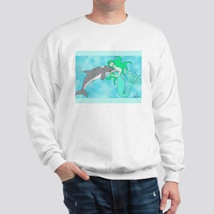 Mermaid & Dolphin Sweatshirt