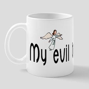 Evil twin did it Mug