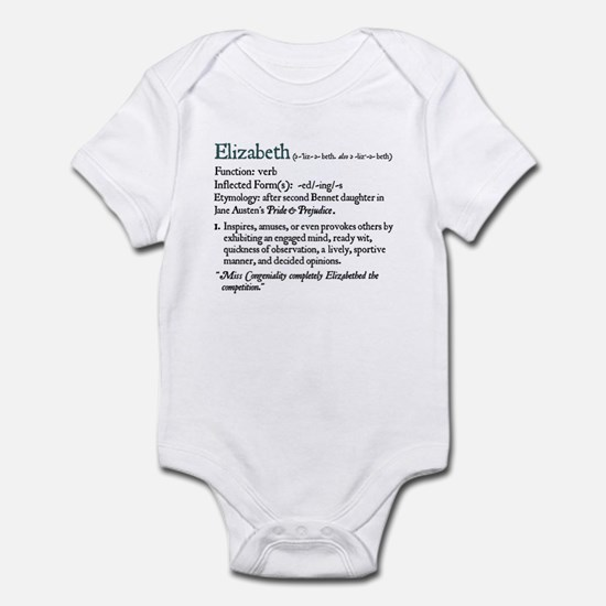 Jane Austen Elizabeth Infant Bodysuit