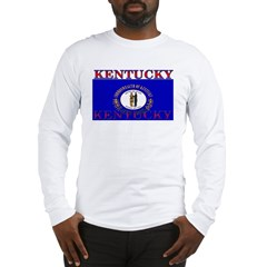 Kentucky State Flag Long Sleeve T-Shirt
