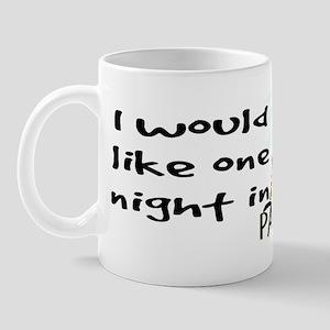 One night in Paris Mug