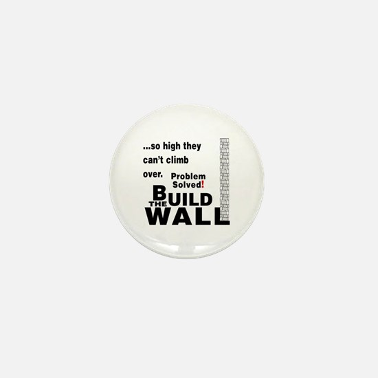 Build the Wall Mini Button