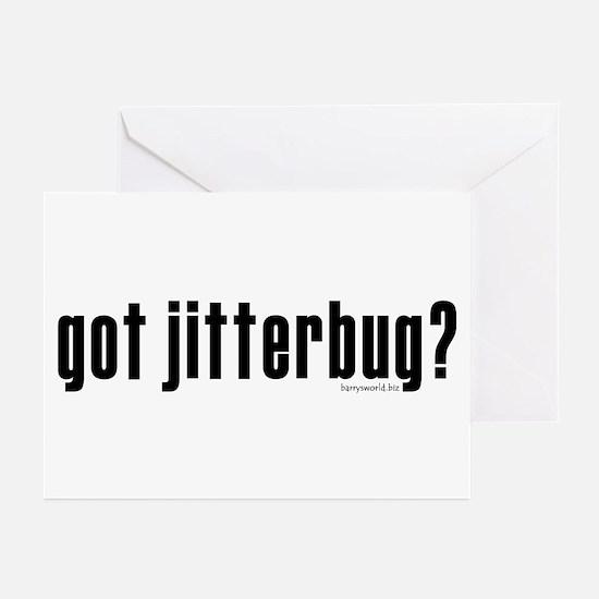 got jitterbug? Greeting Cards (Pk of 20)