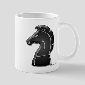 Chess Knight Large Mugs