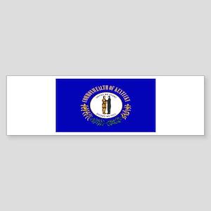 Kentucky Blank Flag Bumper Sticker