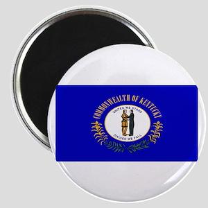 Kentucky Blank Flag Magnet