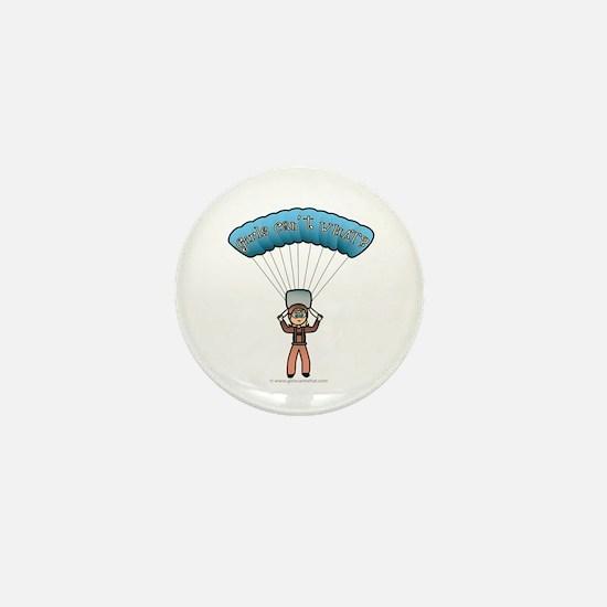 Blonde Sky Diver Mini Button