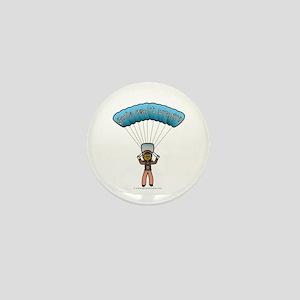 Dark Sky Diver Mini Button