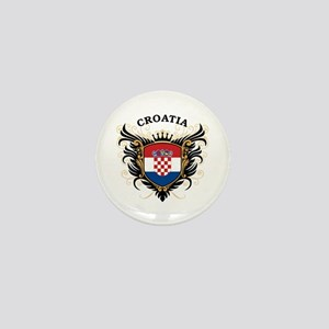 Croatia Mini Button