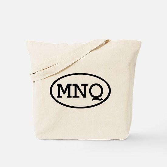 MNQ Oval Tote Bag