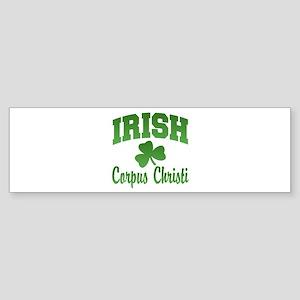 Corpus Christi Irish Bumper Sticker