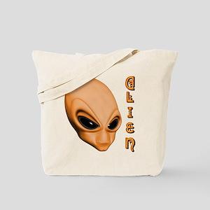 A.L.I.E.N. Orange Tote Bag