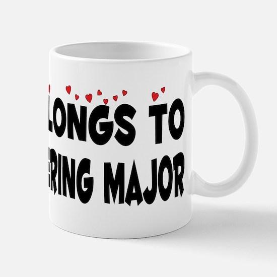 Belongs To A Bioengineering Major Mug