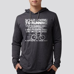 Cyclists Guide To Running Put Long Sleeve T-Shirt