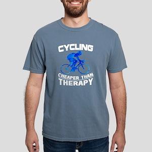 Cycling Cheaper Than Therapy T Shirt T-Shirt