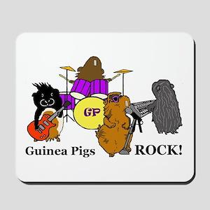 Guinea Pigs Rock! Mousepad